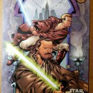 Qui Gon Jinn Obi Wan Kenobi  Dark Horse Comics by Ramon Bachs