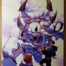 Gate Crashers Black Bull Comic Poster by Greg Hildebrandt