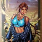 Lara Croft Tomb Raider Top Cow Comics Poster by Andy Park