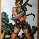 Tomb Raider Lara Croft Top Cow Comic Poster by Andy Park