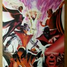 Uncanny X-Men 500 Marvel Comics Poster by Alex Ross