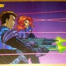 Gate Crasher Black Bull Comics Poster by Amanda Conner