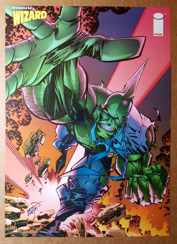 Savage Dragon Image Comic Poster by Erik Larsen