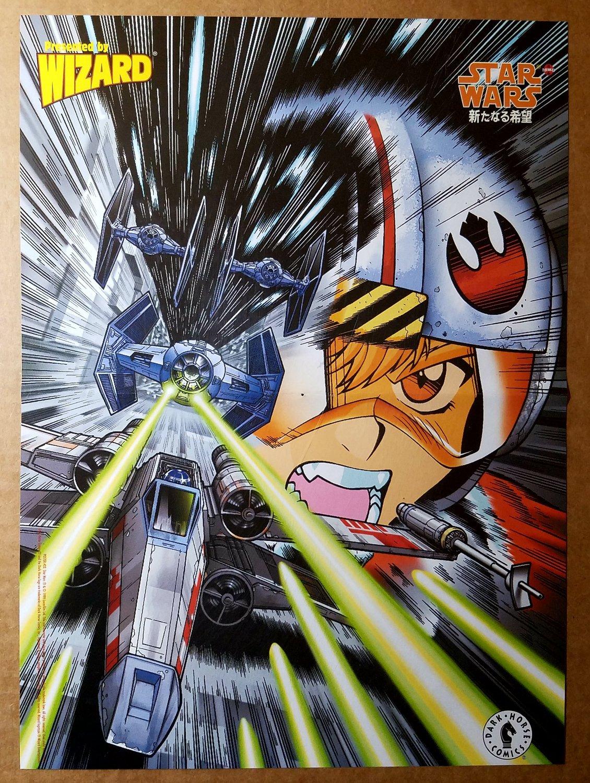Star Wars Dark Horse Comics Manga Poster by Adam Warren