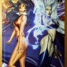Vampirella Lady Death Marvel Comics Poster by Louis Small Jr