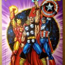 Avengers Thor Captain America Iron Man Marvel Comics Poster by George Perez