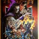 Undertaker Chaos Comics Poster by Rob Brown