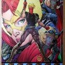 Wildcats X-Men Nick Fury Marvel Wildstorm Comic Poster by Jim Lee