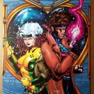 Rogue Gambit Lovers Heart Marvel Comics Poster by Jim Balent