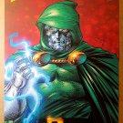 Dr Doom Fantastic Four Dark Book Marvel Comics Poster by Jim Lee