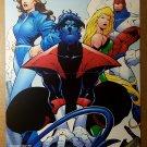 Excalibur Marvel Comics Poster by Roger Cruz