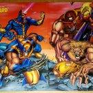 X-Men Wolverine Beast Cyclops Magneto Sabertooth Marvel Poster by Joe Madureira