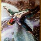 Archangel Angel X-Men Marvel Comics Poster by Bob Wakelin