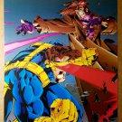 Cyclops Gambit X-Men Marvel Comics Poster by Joe Madureira