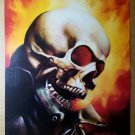 Ghost Rider John Blaze Marvel Masterpieces Comic Poster by Boris Vallejo