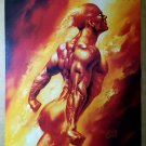 Human Torch Marvel Masterpieces Comic Poster by Boris Vallejo