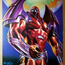 Onslaught X-Men Marvel Comics Poster by Boris Vallejo