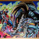 Spawn Vs Violater Image Comics Poster by Bart Sears