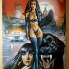 Vampirella Pantha Harris Comics Poster by Mark Texeira