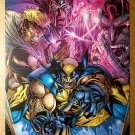 Wolverine Sabretooth Omega Red Magneto X-Men Marvel Comics Poster by Chap Yeap