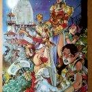 Medieval Gen13 Fairchild Grunge Freefall WildStorm Comic Poster by Dan Norton