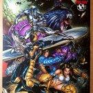 Silver Surfer Weapon Zero Top Cow Marvel Comic Poster Marc Silvestri Joe Benitez