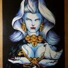 Lady Death The Crucible Chaos Comics Poster by Steven Hughes