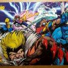 X-Men Sabretooth Beast Gambit Bishop Iceman Marvel Poster by Darick Robertson