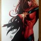 Ms Marvel Avengers Marvel Comics Poster by Mike Deodato