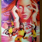 Vintage X-Men Jean Grey Marvel Girl Phoenix Marvel Comic Poster by Mike Mayhew