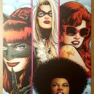 Black Cat Marvel Divas by Patrick Zircher Marvel Poster