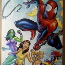 Spider Man She hulk Hellcat by Salva Espin Poster