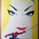 Spider-man Blue #2 Gwen Stacy by Tim Sale Marvel Poster