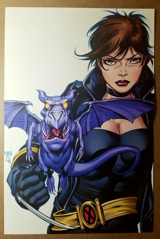 X-Men Forever 4 Kitty Pryde Lockhead Tom Grummett Marvel Comics Poster