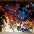Spider Woman Storm Black Widow Black Widow Hellcat Marvel Poster by Frank Cho