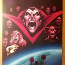 Captain Britain Vampire X-Men Dracula Marvel Comics Poster by Stuart Immonen