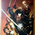 Ultimate Comics Avengers Blade Daredevil Marvel Comics Poster by Leinil Francis Yu
