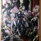 X-Men 1 Variant Marvel Comics Poster by Paco Medina