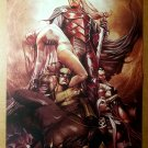 X-Men 3 Wolverine Storm Emma Frost Rogue Cyclops Marvel Comics Poster by Adi Granov