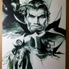 Tomb of Dracula Marvel Comics Poster by Gene Colan