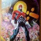 Captain Britain Excalibur Marvel Comics Poster by Alan Davis