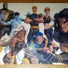 Ultimate X-Men Wolverine Storm Cyclops Marvel Comic Poster by Randy Green