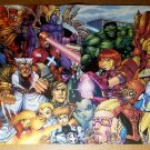 Marvel Mangaverse Eternal Twilight Marvel Comics Poster by Ben Dunn