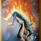 Human Torch Vs Namor Sub Mariner Marvel Comics Poster by Jae Lee
