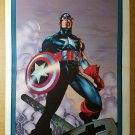Avengers Captain America Marvel Comics Poster by Travis Charest
