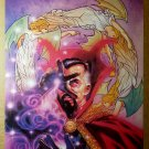 Avengers Dr Strange The Flight of Bones Marvel Comics Poster by Tony Harris