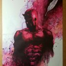 Daredevil The Man without Fear Marvel Comics Poster by Joe Quesada
