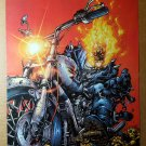 Ghost Rider The Hammer Lane Marvel Knights Marvel Comic Poster by Trent Kaniuga