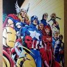 Avengers Assemble Marvel Comics Poster by Alan Davis