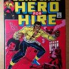 Luke Cage Hero for Hire Marvel Comics Poster by John Romita Sr